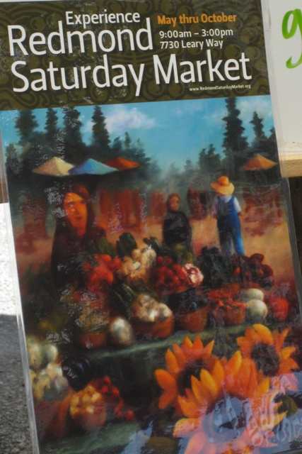 Redmond Saturday Market poster