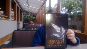inside Harvester Restaurant