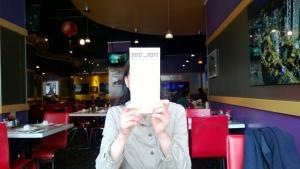 inside Purple Dot Cafe