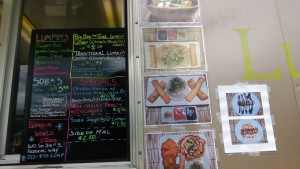 Lumpia World menu
