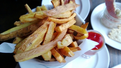 hand cut fries at [pickled fish]