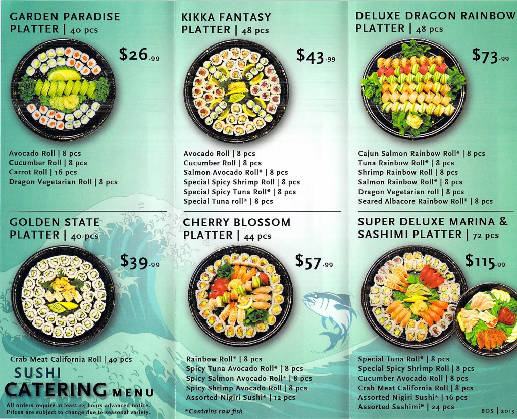 Whole Foods Sushi Catering