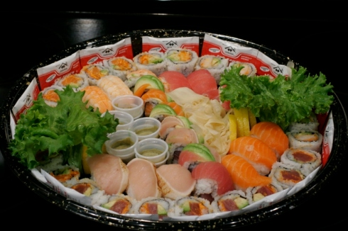 Kikka Sushi Catering Cherry Blossom Platter