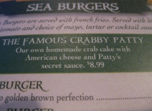 Crabby Patty is real