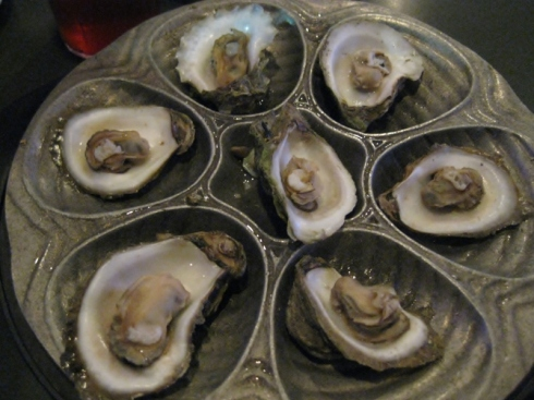 Crabby Patty's-Steamed Oysters