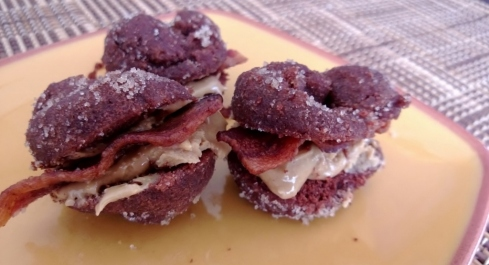 Donut Sandwich - Donut Day 2014