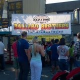 Ballard Brothers Seafood and Burgers at the Salmon Days Festival