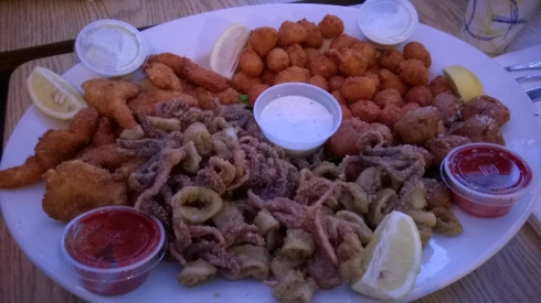 Family Seafood Platter-Phil's Fish Market