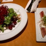 Father's Office-Organic Beet Salad/Smoked Eel