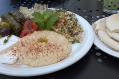 Urth Cafe - The Mediterranean Platter