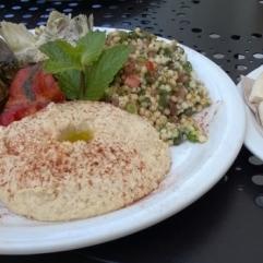 Urth Cafe - The Mediterranean Platter